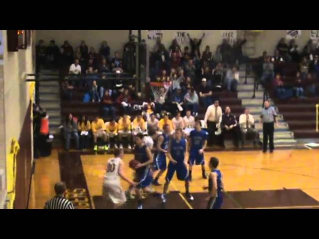 3-8-13 - Mitch Tormohlen banks it in off the miss (Brush 31, Moffat County 18)