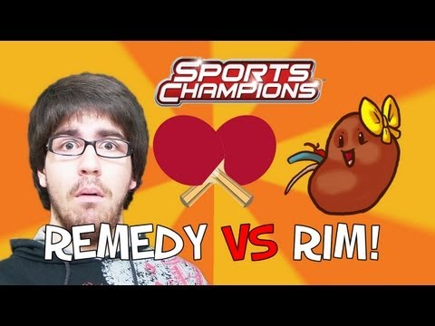 Remedy Vs. Rim - Classe No Ténis De Mesa (sports Champions) video