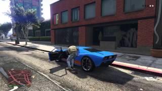 Saved by a citizen GTA V PS4