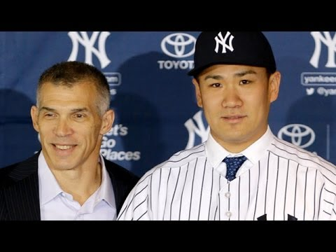 The New York Yankees officially introduce Masahiro Tanaka