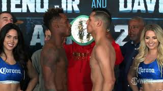 Adrien Broner vs Jessie Vargas Full Weigh In| Video by Showtime Sports