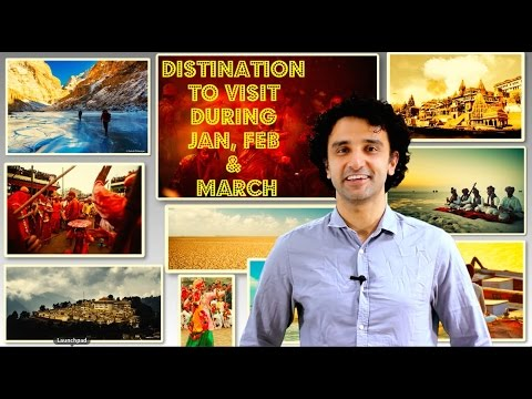 Go: Travel to India in Jan, Feb and March