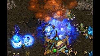 Yoda (Z) v Funny (P) on Fighting Spirit - StarCraft  - Brood War REMASTERED 2019