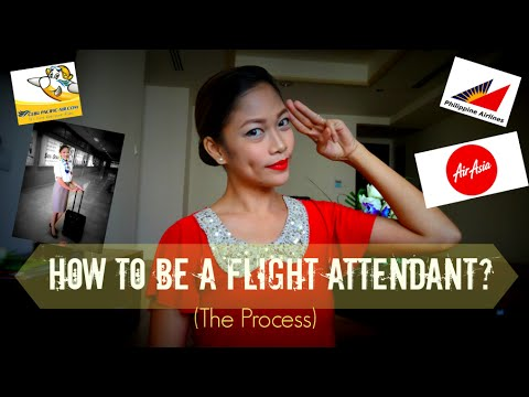 How to be a flight attendant?