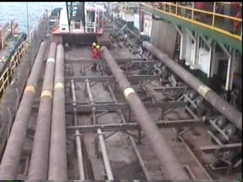 Araya-Margarita Offshore Gas Pipeline Laying / Tendido de gasoducto costa afuera Araya Margarita