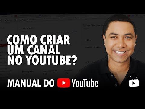 Como criar um canal no Youtube? Manual do Youtube thumbnail
