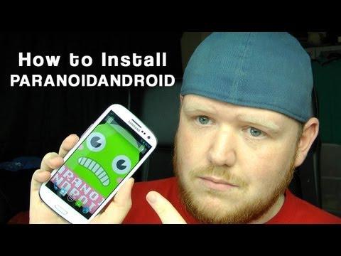 Install PARANOID ANDROID Jelly Bean ROM Galaxy S3 CM10 / i9300