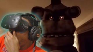 360 | Five Nights at Freddy's HTC Vive VR REACTION ( FNAF )