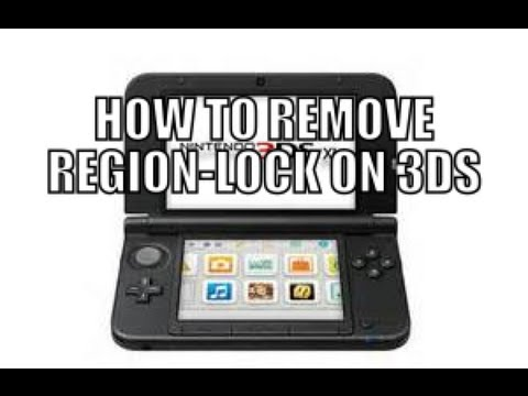 remove region lock on your 3ds wii u youtube. Black Bedroom Furniture Sets. Home Design Ideas