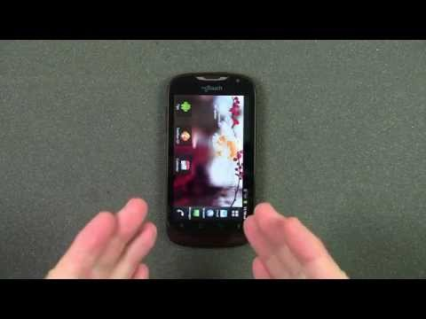 Mobile myTouch by Huawei Smartphone Quick Look Review