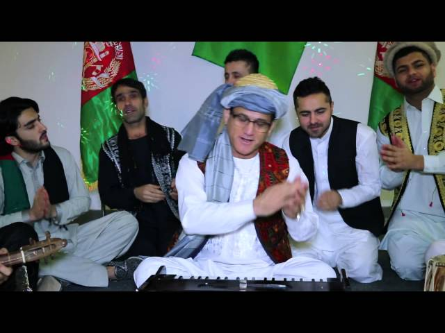 "New afghan song by Amanullah Amiri ""Za afghan bachai"" official video  2014"