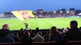 Opkomst Go Ahead Eagles - Feyenoord 19-10-2013