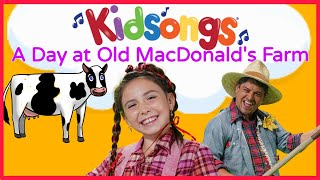 Kidsongs A Day At Old Macdonald 39 S Farm Mary Had A Little Lamb This Old Man For Kids Pbs Kids