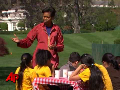 First Lady: White House Garden Will Feed Many