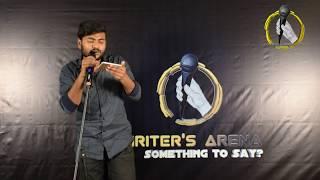 """ Tumhe Main "" - Aman Sachdeva   Writer's Arena   Poetry   Open Mic   Storytelling"