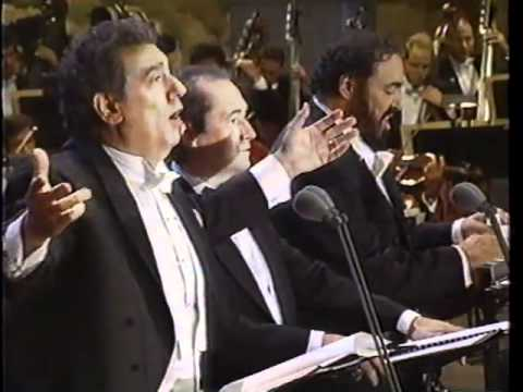 The 3 Tenors O Sole Mio 1994 Music Videos