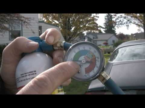 Car Maintenance : How to Add Freon to a Car Air Conditioner