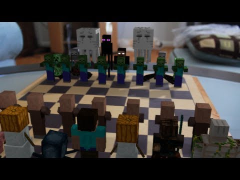 Minecraft Chess in Real Life Animation Concept Trailer