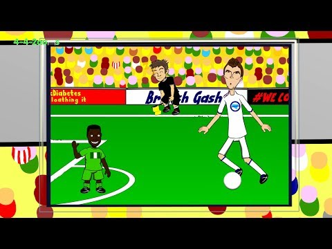 DZEKO OFFSIDE - Nigeria vs Bosnia H by 442oons (World Cup Cartoon 2014 21.6.14)