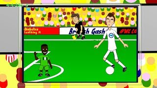 DZEKO OFFSIDE - Nigeria v Bosnia H by 442oons (World Cup Cartoon 2014 21.6.14)