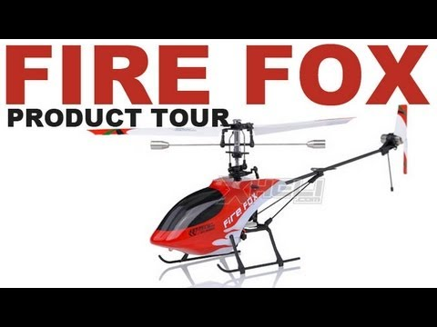 New Art Tech 4-Ch Firefox RC Helicopter