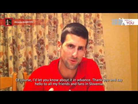 No 5 video reply by Novak Djokovic #NoleForYou