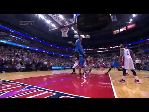 Russell Westbrook Scores Game-Winning Layup with 0.8 Seconds