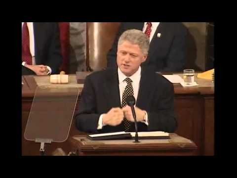 President Bill Clinton's State of the Union Addresses (1997-2000 Speeches)