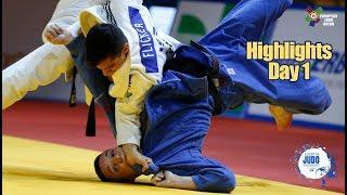 European Judo Championships Tel Aviv 2018: Highlights Day 1