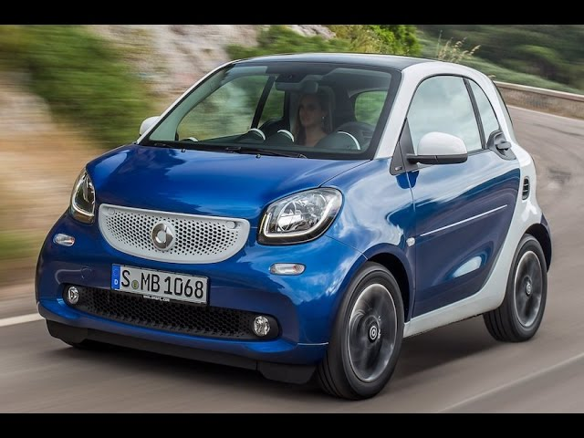 2016 Smart fortwo Review - YouTube