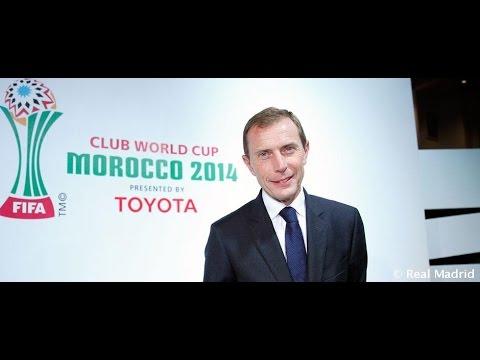 """Butragueño: """"El Mundial de Clubes es importante y da prestigio"""""""