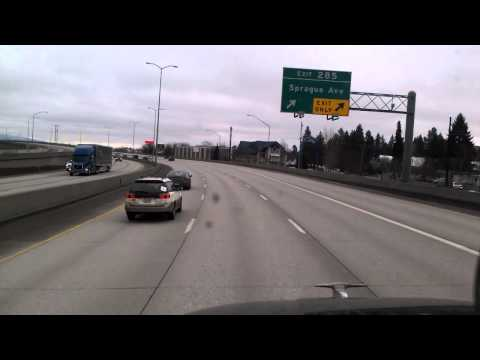 Spokane, Washington on Interstate 90