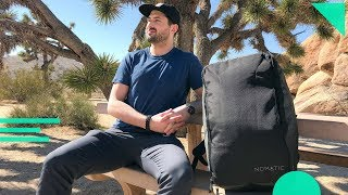 NOMATIC Travel Bag Review | 40L Carry-On Backpack (Indiegogo & Kickstarter Crowdfunded)
