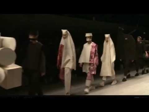 Central Saint Martins MA Fashion - London Fashion Week, Autumn/Winter 2012-2013 - Full Fashion Show