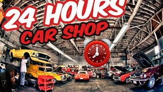 (OMFG) 24 HOUR OVERNIGHT CAR DEALERSHIP ⏰ | KIDNAPPED BY OWNER BEST 24 HOUR CHALLENGE (CRAZY TWIST)