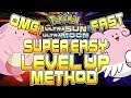 FAST LEVEL UP METHOD! EASY LEVEL 100 POKEMON IN POKEMON ULTRA SUN AND ULTRA MOON - How to level up