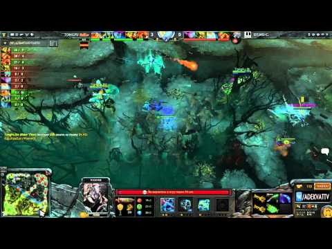 DT.Club vs TongFu, Sina Cup Supernova Dota 2 Open Season 2, Day 1, game 3