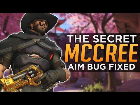 Overwatch: McCree SECRET Aim Fix!