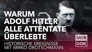 Warum Adolf Hitler alle Attentate berlebte  Histor