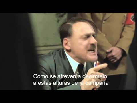 Hitler se entera que RAMBO va a ganar las elecciones en Tuxtepec