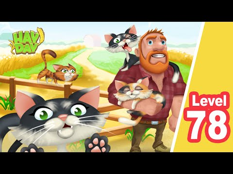 HAY DAY - Level 78 - iPad / iPhone / Android - SUBSCRIBE