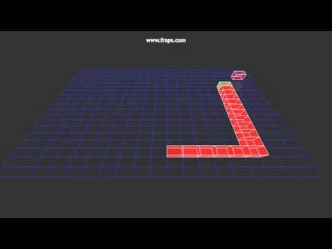 C++ first 3d Game (snake using OpenGL)