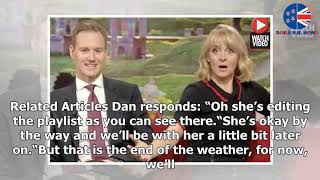 BBC Breakfast's Dan Walker urges viewers to 'stay calm' as studio hit by technical gaffe