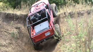 2011 MN Trail Riders Jeep 4x4 Club Host Fall River Falls Run - Part 1 of 2
