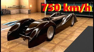 The Fastest 4 Cylinder Car In Automation/BeamNG! 755km/h (469mph)