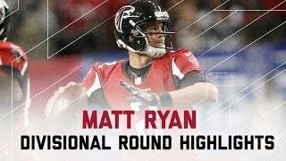 Matt Ryan Tosses 4 TD Passes!   Seahawks vs. Falcons   Divisional Player Highlights