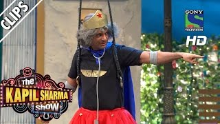 Dr. Mashoor Gulati as Flying Jatt -The Kapil Sharma Show-Episode 35 -20th August 2016