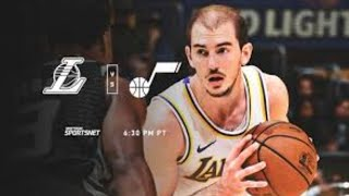 Lakers vs Jazz Live pregame with DTLF!