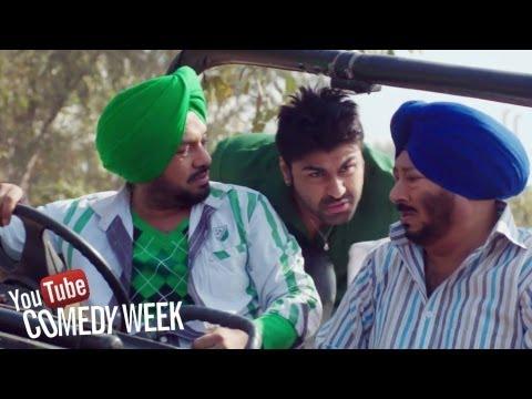 Jeep di breakan fail - Punjabi Comedy Scene - Jatts in Golmaal | Youtube Comedy Week India thumbnail