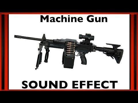 Machine Gun Sound Effect | Sfx | HD